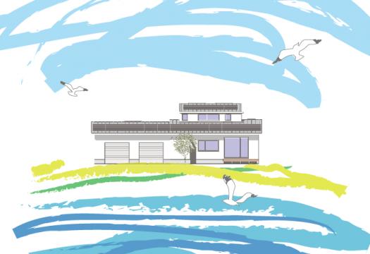 kuriyaの家〜大村湾と遊ぶ家〜② 完成見学会のお知らせ