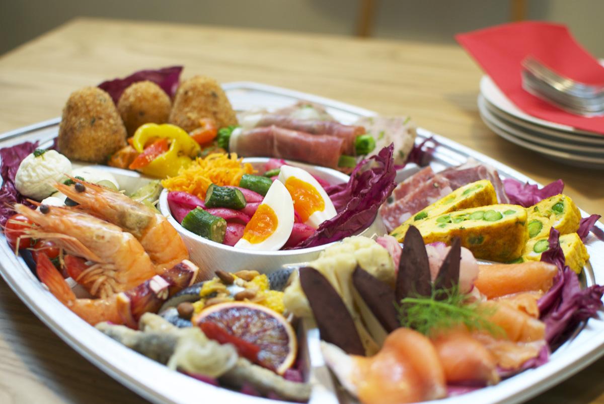 持ち寄りパーティ&お花見はリストランテ厨の特製オードブルで