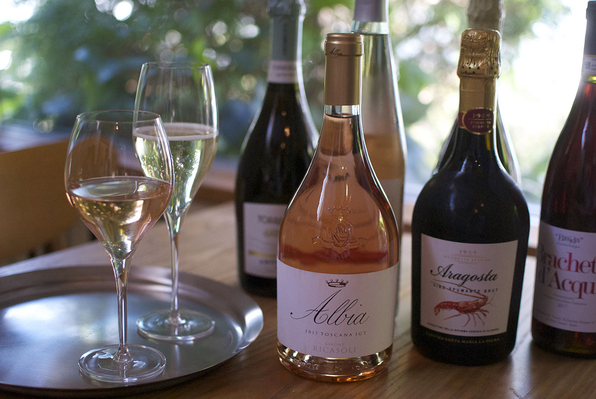新緑の季節に合う【スパークリングワイン&ロゼワイン】が入荷